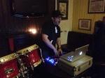 DJ Saffrolla dropping beats...